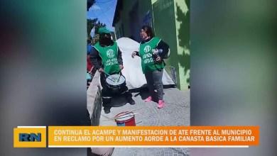 Photo of Redacción Noticias |  Acampe y reclamo continuo del gremio ATE por un aumento salarial acorde a la canasta básica familiar