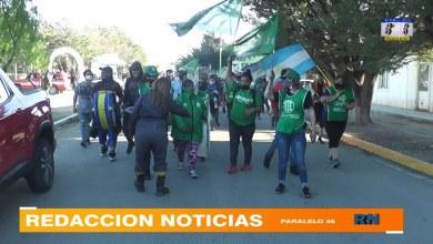 Photo of Redacción Noticias |  Así se vivió la marcha de ATE por un aumento salarial digno por las calles de la ciudad de Las Heras