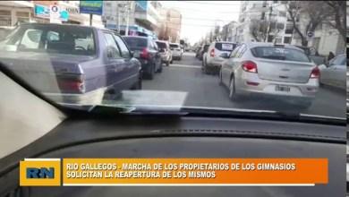 Photo of Redacción Noticias |  Dueños de gimnasios en Rio Gallegos hicieron una marcha pidiendo la reapertura de los mismos