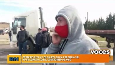 Photo of Redacción Noticias |  Corte de la ruta n° 3 en Caleta Olivia por parte de Maxia SRL al no concretarse los pagos