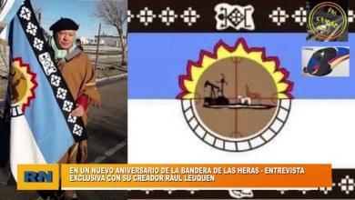 Photo of Redacción Noticias |  Un nuevo aniversario de la bandera de Las Heras – Entrevista exclusiva con su creador Raul Leuquen