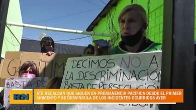 Photo of Redacción Noticias    ATE aclara que siempre estuvieron adentro del municipio y no afuera con los incidentes