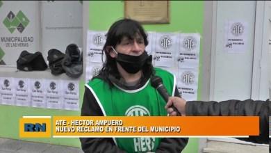 Photo of Redacción Noticias |  ATE – Hector Ampuero: Nuevo reclamo frente al Municipio de Las Heras