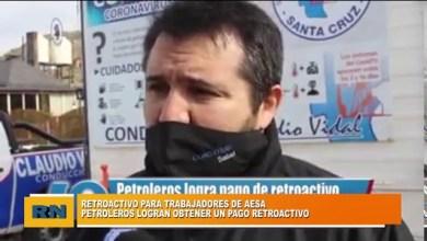 Photo of Redacción Noticias |  Petroleros logran obtener el pago retroactivo para trabajadores de la empresa AESA en Caleta Olivia