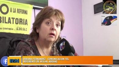 Photo of Redacción Noticias |  Entrevista a Bibiana Fernandez referente de ADOSAC filial Las Heras