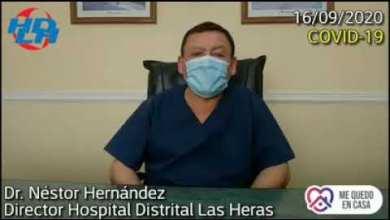 Photo of Redacción Noticias |  Informe oficial del COE desde el Hospital de Las Heras – Nestor Hernandez