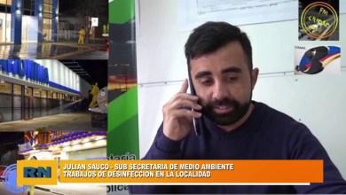 Photo of Redacción Noticias    Trabajos de desinfección en Las Heras – Julian Sauco – Medio Ambiente de la Municipalidad