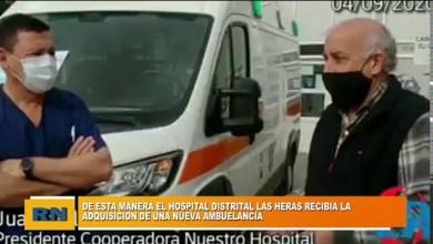 Photo of Redacción Noticias |  De esta manera el Hospital de Las Heras recibió la adquisición de una nueva ambulancia