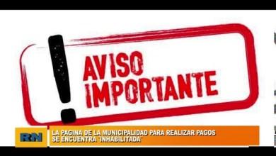 Photo of Redacción Noticias |  La pagina de la Municipalidad de Las Heras se encuentra inhabilitada para realizar pagos