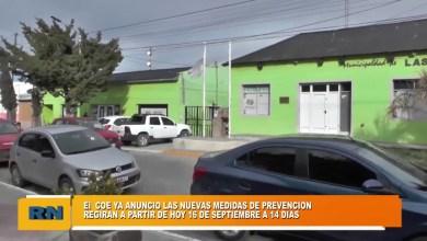Photo of Redacción Noticias |  El COE de Las Heras anuncio las nuevas medidas de prevención durante los próximos 14 días