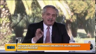 Photo of Redacción Noticias |  El Presidente Alberto Fernandez encabezo el relanzamiento del Plan Procrear