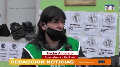 Photo of Redacción Noticias |  ATE sigue reclamando el incremento de sueldo frente a la Municipalidad