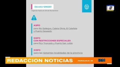 Photo of Redacción Noticias    Nuevo decreto provincial sobre el distanciamiento preventivo, social y obligatorio a cumplir