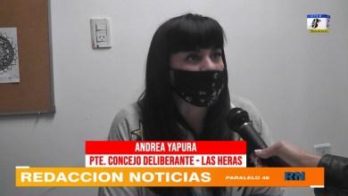 Photo of Redacción Noticias    La concejal Andrea Yapura hablo de la sexta banca y la violencia que vivo por parte del gremio ATE