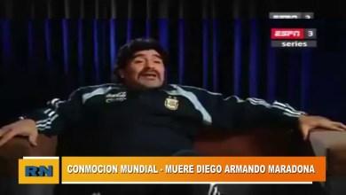 Photo of Redacción Noticias |  Conmoción mundial: Fallece Diego Armando Maradona