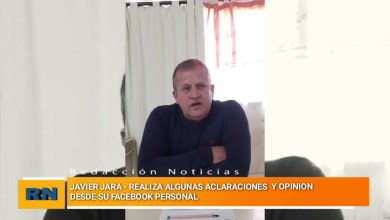 Photo of Redacción Noticias |  Declaraciones de Javier Jara desde facebook live
