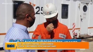 Photo of Redacción Noticias |  Rafael Guenchenen desde el Sindicato Petrolero visita a los trabajadores de San Antonio