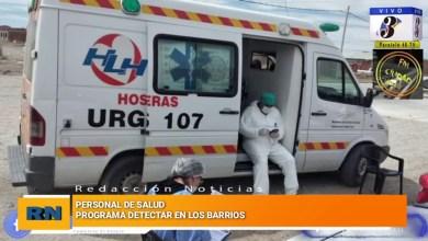 Photo of Redacción Noticias |  El programa «DETECTAR» sigue trabajando en los barrios de Las Heras