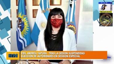 Photo of Redacción Noticias |  Andrea Yapura – Elecciones en el HCD, Tarifarias y situacion con la Concejal Daniel Alonso