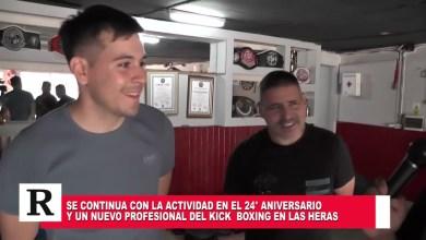 Photo of Redacción Noticias |  Un nuevo Aniversario de la Academia Luchador y el Kick Boxing en Las Heras Santa Cruz