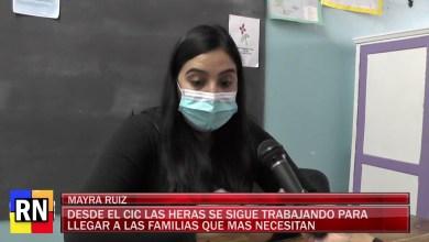 Photo of Redacción Noticias |  Mayra Ruiz detalla todo el trabajo que se realiza desde el CIC «Las Heras» con familias necesitadas