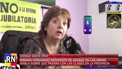 Photo of Redacción Noticias    ADOSAC BIBIANA FERNANDEZ QUE PASA CON LAS CLASES? – LAS HERAS SANTA CRUZ