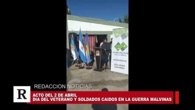 Photo of Redacción Noticias |  Acto oficial por el 2 de Abril en la ciudad de Las Heras (Parte 2)