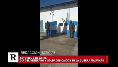 Photo of Redacción Noticias |  Acto oficial por el 2 de Abril en la ciudad de Las Heras