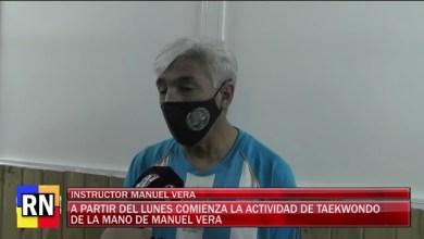 Photo of Redacción Noticias |  Taekwondo a cargo de Manuel Vera comienza con sus actividades