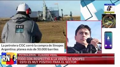 Photo of Redacción Noticias |  Claudio Vidal – Sinopec