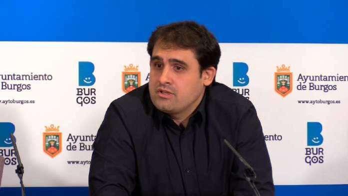 Jorge Berzosa, Ayuntamiento Burgos