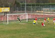 Segundo gol del Real Burgos en San Esteban de Gormaz