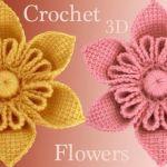 Flores a Crochet en 3D