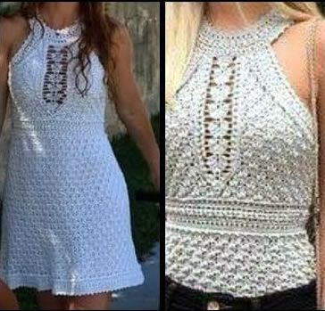 Diy A Canal Blusa Verano Vestido Crochet O SGjzVpLqUM