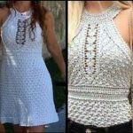 DIY blusa o vestido verano a crochet