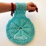 DIY  Porta madeja tejido a crochet