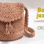 DIY Bolso mochila tejido a crochet
