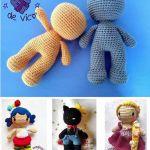 Cuerpo muñeco amigurumi en una pieza (sin coser)