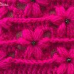Punto Rosas Puff a crochet
