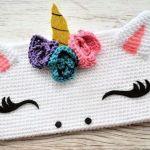DIY Estuche unicornio tejido a crochet