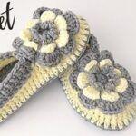Zapatillas a crochet muy fácil paso a paso