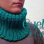 Cuello elástico tejido a crochet súper fácil