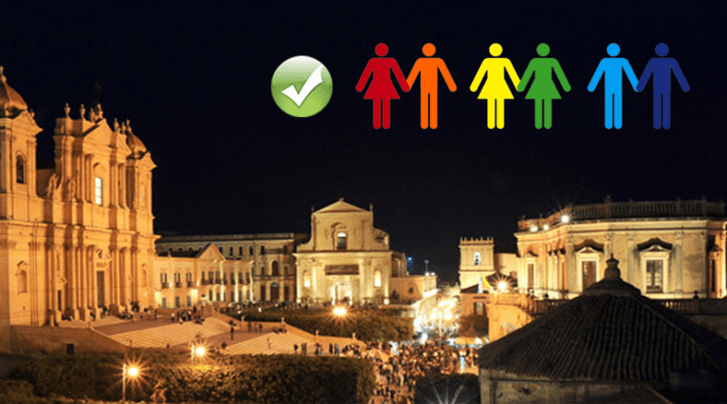 Noto città gay-friendly