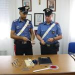 Materiale Sequestrato arresto Casto2