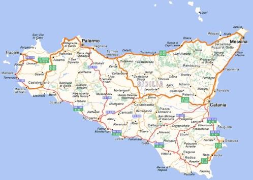 Giro della Sicilia nel Val di Noto