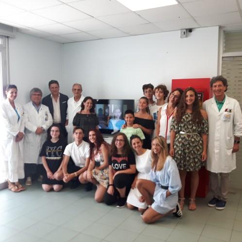 Cinetiche in dono per i reparti di oncologia