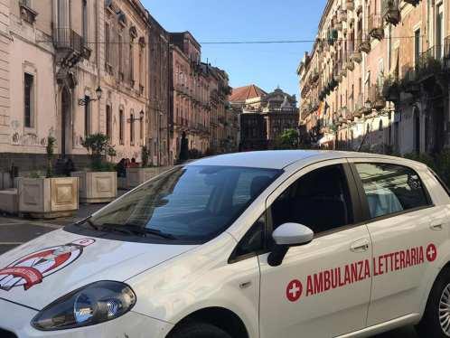 Ambulanza Letteraria al liceo Lombardo Radice di Catania
