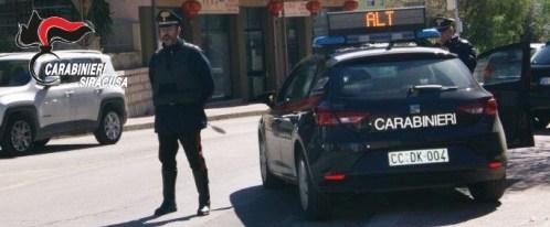 Controlli dei carabinieri nelle attività pubbliche della provincia