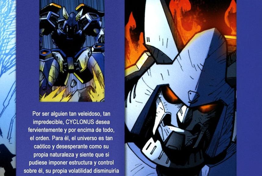 [Transformers 19] Spotlight Cyclonus & Hardhead