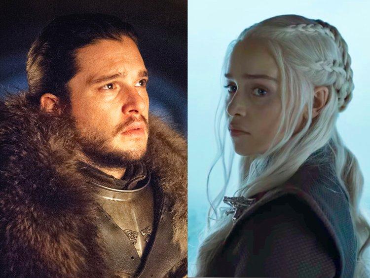 Jon y Daenerys protagonizan la primera imagen oficial de Game of Thrones
